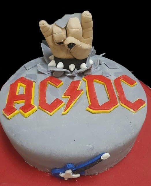 Brilliant Acdc Rock N Roll Welcome To Big Daddy Cakes Birthday Cards Printable Opercafe Filternl