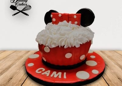 Minnie Giant Cupcake