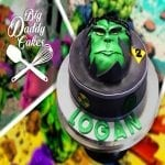 Hulk Custom Cake