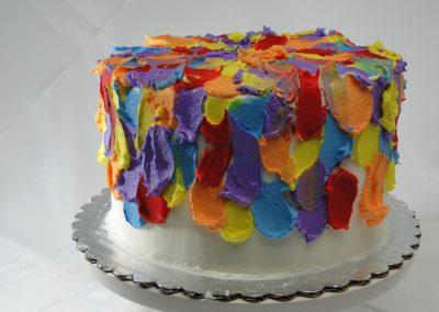 Artist Pallet Cake