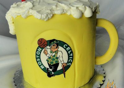 Beer Mug Birthday Cake