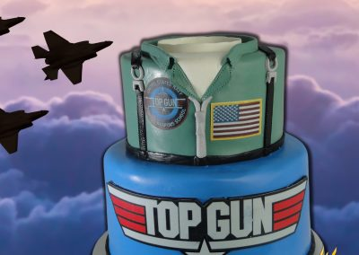 Top Gun Birthday Cake
