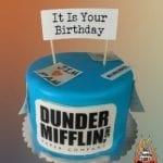 6in Custom The Office Cake