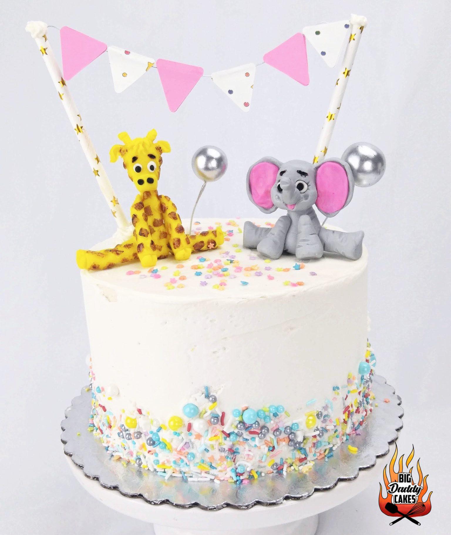 Baby Boy Baby Shower Custom Cake
